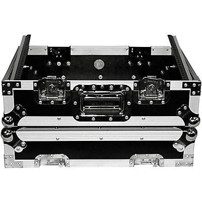 "ProX 8U Top Mount 19"" Slanted Mixer Case"