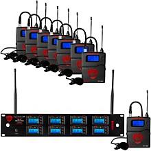 Open BoxNady 8W-1KU - Eight 1000-Channel Lavalier Wireless System