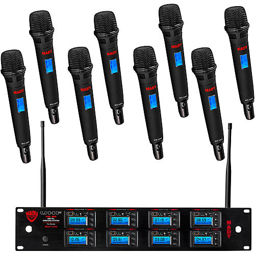 Nady 8W-1KU UHF 8-Channel Wireless Receiver System Condition 2 - Blemished Regular 194744185243