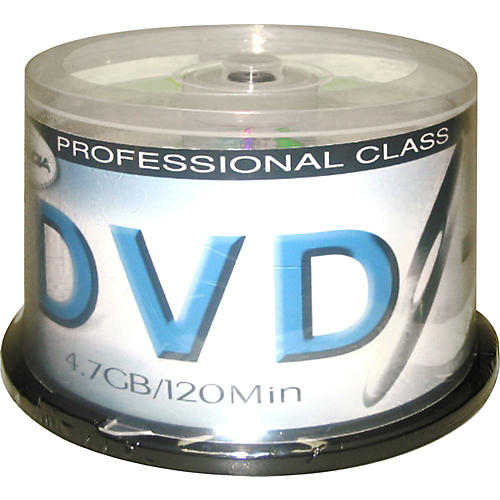 Pro Media 8X DVD-R 4.7GB 50 Cake Box