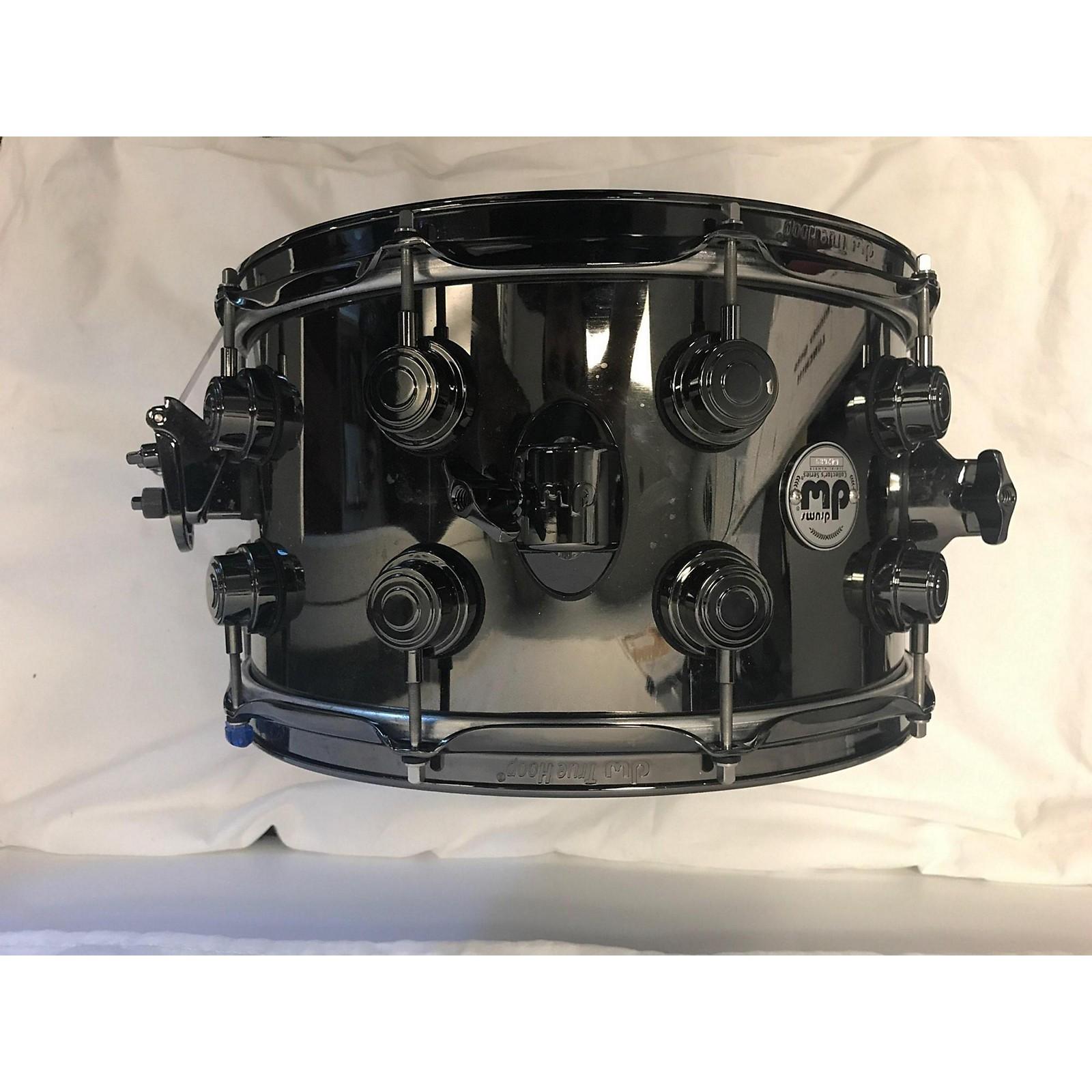 DW 8X14 Custom Collector's Series Nickel Over Brass Drum