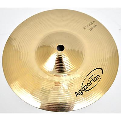 Agazarian 8in 8in Traditional Splash Cymbal