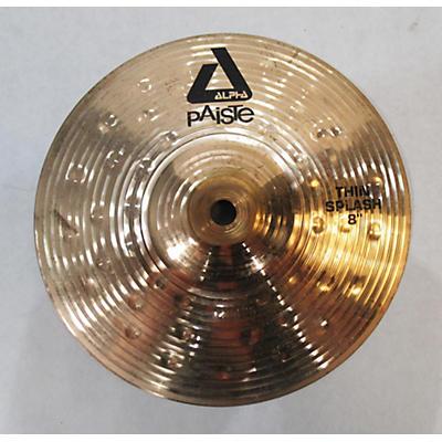 Paiste 8in Alpha Thin Splash Cymbal