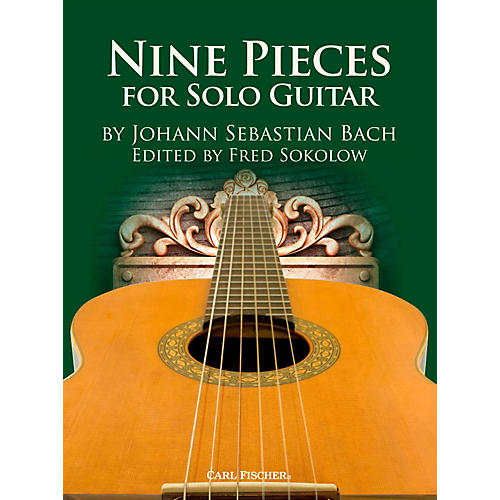 Carl Fischer 9 Bach Solos for Guitar