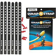 Wrap-N-Strap 9 In. 6-Pack Black