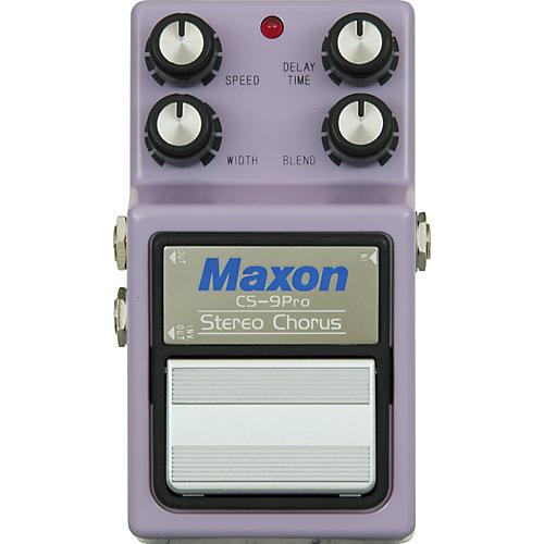 Maxon 9-Series CS-9 Stereo Chorus Pro Pedal