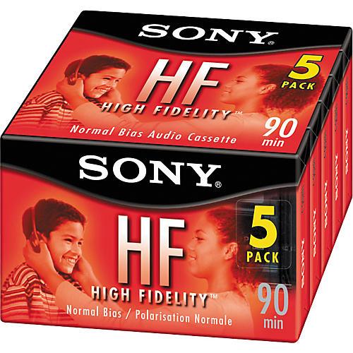 Sony 90 Minute HF Type I Cassette Tape