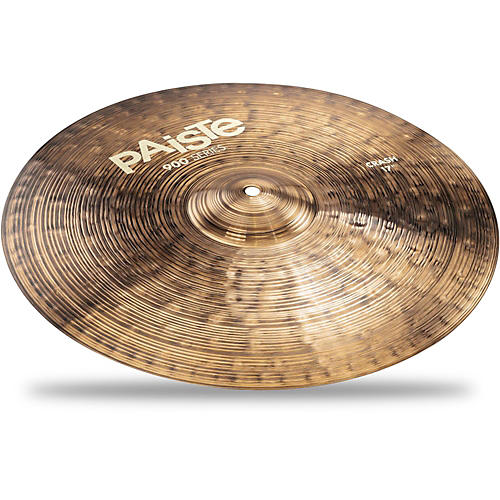 paiste 900 series crash cymbal 17 in musician 39 s friend. Black Bedroom Furniture Sets. Home Design Ideas