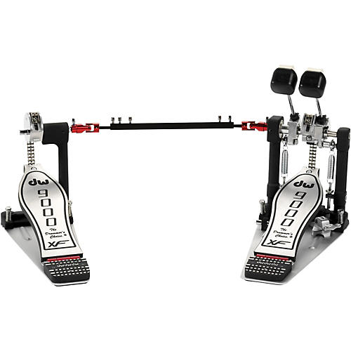 DW 9000 Series Double Bass Drum Pedal with eXtended Footboard Condition 2 - Blemished  194744516818