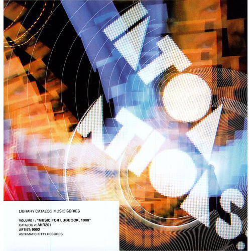 Alliance 900x - Library Catalog Music Series: Music For Lubbock 1980