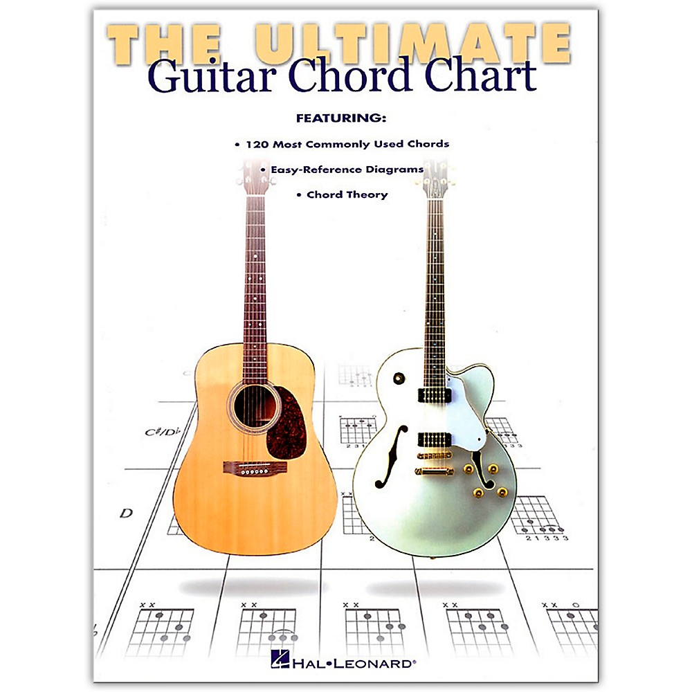 Hal Leonard Ultimate Guitar Chord Chart Book 9780634000287 Ebay