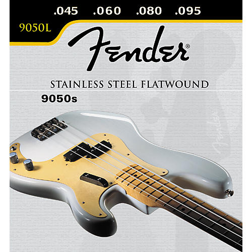 Fender 9050L Stainless Flatwound Bass Strings