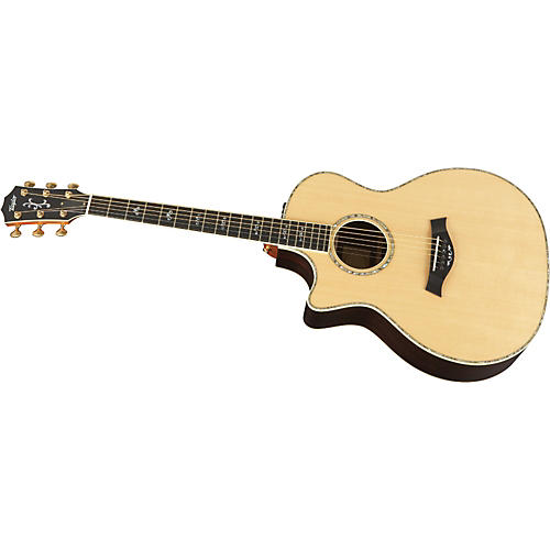 Taylor 914ce-L Rosewood/Spruce Grand Auditorium Left-Handed Acoustic-Electric Guitar