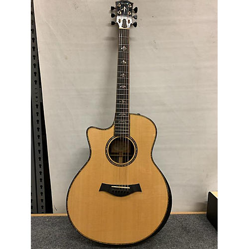 Taylor 916CE Left Handed Acoustic Electric Guitar Natural