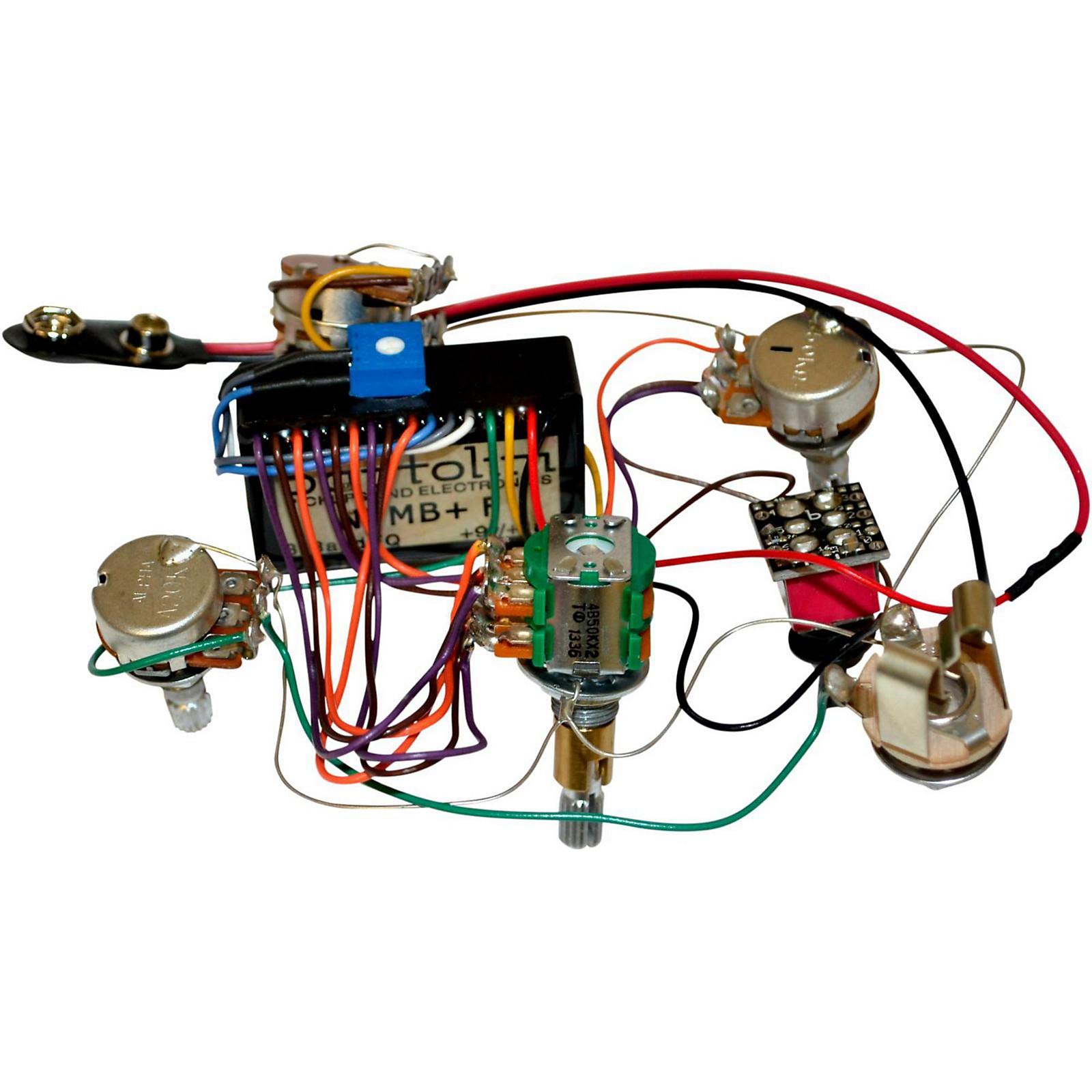 Bartolini 918 3-band EQ Pre-wired Harness