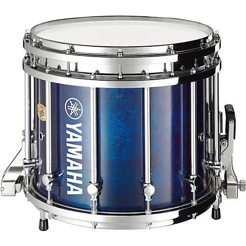 yamaha 9300 series sfz marching snare drum 14 x 12 in blue forest with chrome hardware. Black Bedroom Furniture Sets. Home Design Ideas