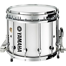 9300 Series SFZ Marching Snare Drum 14 x 12 in. White Forest with Chrome Hardware