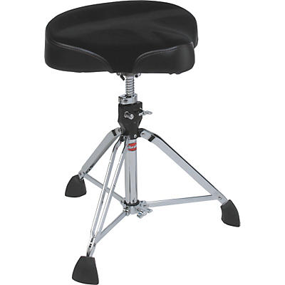 Gibraltar 9600 Series Motorcycle-Style Cordura/Vinyl Drum Throne