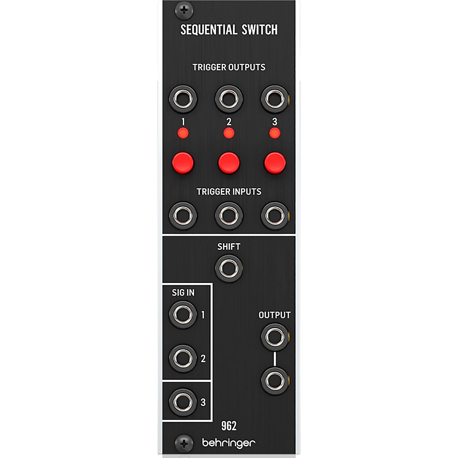 Behringer 962 Sequential Switch CV Multiplexer Eurorack Module