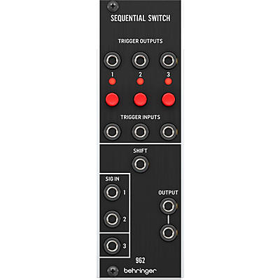 Behringer 962 Sequential Switch CV Multiplexer Eurorack Module