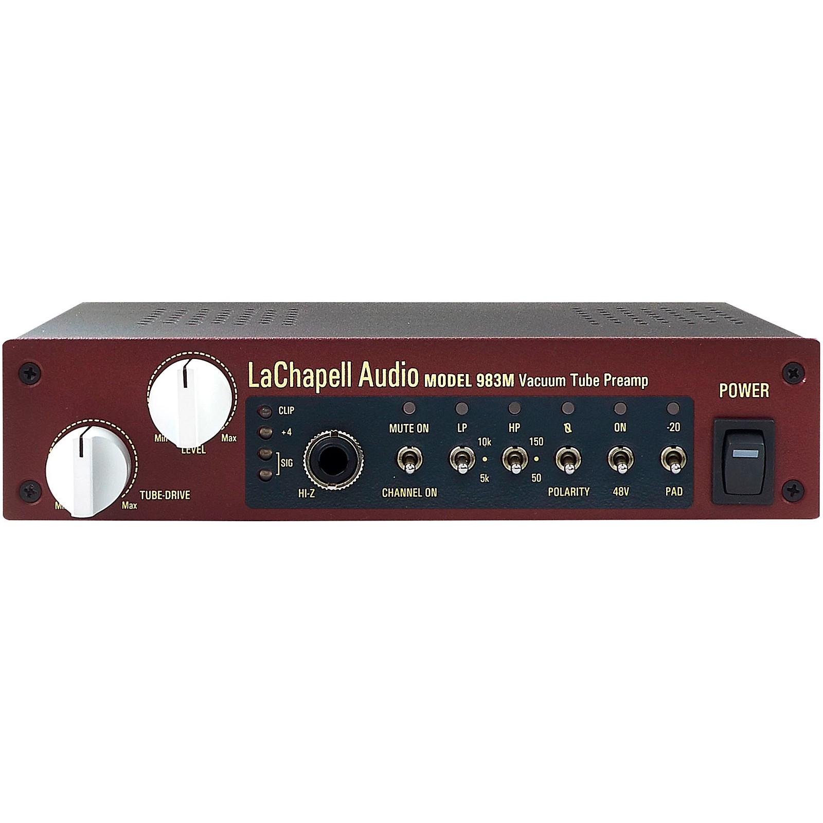 LaChapell Audio 983M Tube Mic Preamp