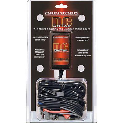Rocktron 9V DC OnTap Adapter Universal Guitar Pedal Power Supply