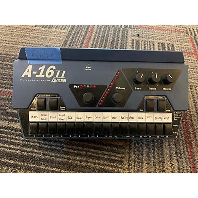 Aviom A-16 II Personal Mixer Unpowered Mixer Line Mixer