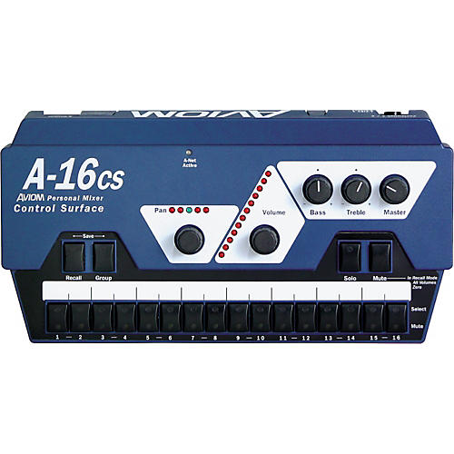 Aviom A-16CS Control Surface Remote Control for A-16R Mixer