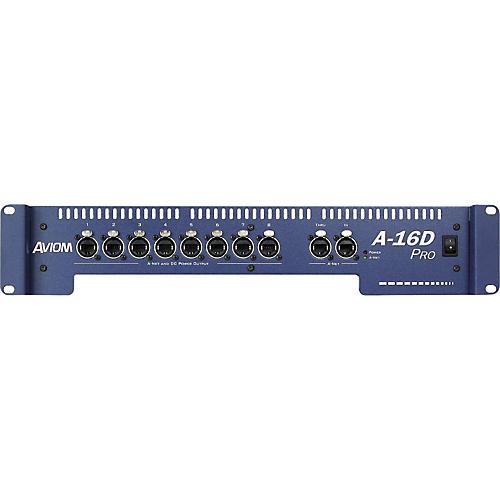 Aviom A-16D Pro A-Net Distributor and DC Power Source