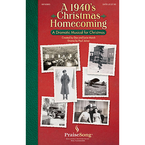 PraiseSong A 1940s Christmas Homecoming (Drama by Paul Joiner Tenor/Bass) CD 10-PAK Arranged by Don Marsh