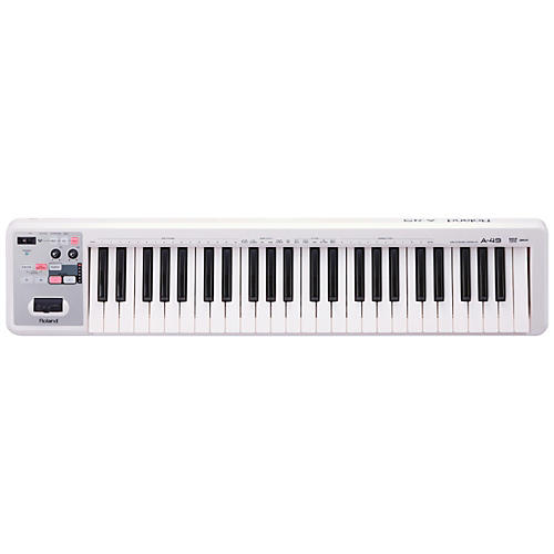 Roland A-49 MIDI Keyboard Controller Condition 1 - Mint White