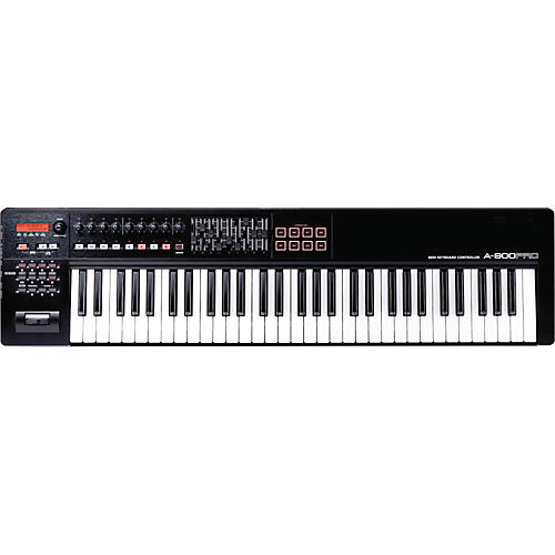 roland a 800pro 61 key midi keyboard controller musician 39 s friend. Black Bedroom Furniture Sets. Home Design Ideas