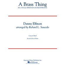 G. Schirmer A Brass Thing Concert Band Level 4 Composed by Danny Elfman Arranged by Richard L. Saucedo