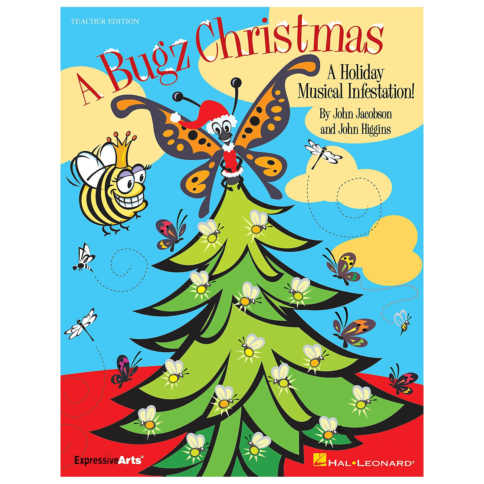 Hal Leonard A Bugz Christmas (A Holiday Musical Infestation!) REPRO PAK Composed by John Higgins