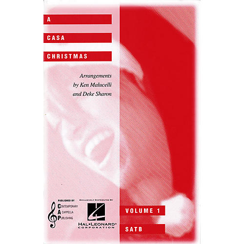 Hal Leonard A CASA Christmas (Collection) SATB a cappella arranged by Ken Malucelli