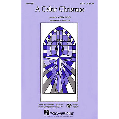 Hal Leonard A Celtic Christmas 2-Part Arranged by Audrey Snyder