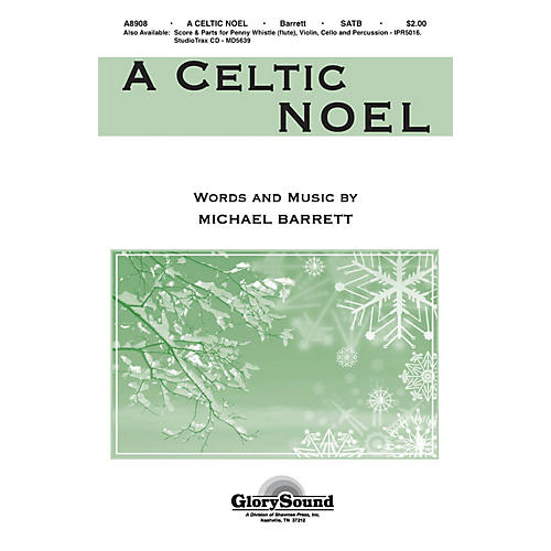 Shawnee Press A Celtic Noel Studiotrax CD Composed by Michael Barrett