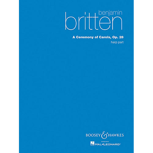 Boosey and Hawkes A Ceremony of Carols (Harp Part) Harp composed by Benjamin Britten