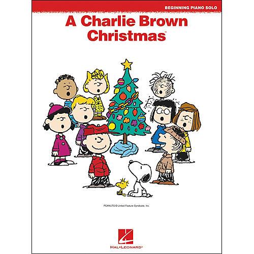 Hal Leonard A Charlie Brown Christmas Beginning Piano Solos