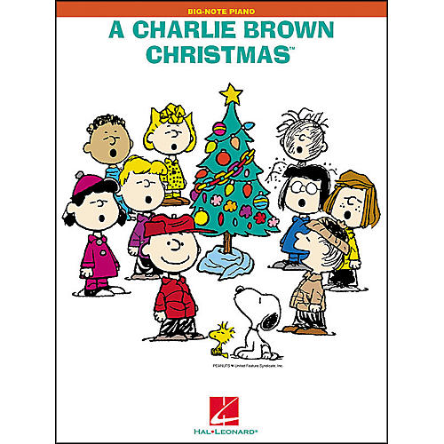 Hal Leonard A Charlie Brown Christmas for Big Note Piano