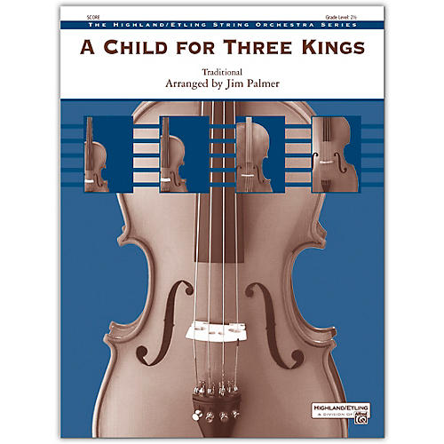 Alfred A Child for Three Kings Conductor Score 2.5