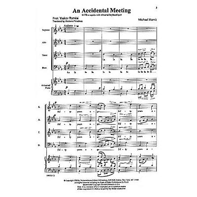 Transcontinental Music A Child's Journey SATB composed by Michael Horvit