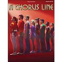 Hal Leonard A Chorus Line - Updated Edition arranged for piano, vocal, and guitar (P/V/G)