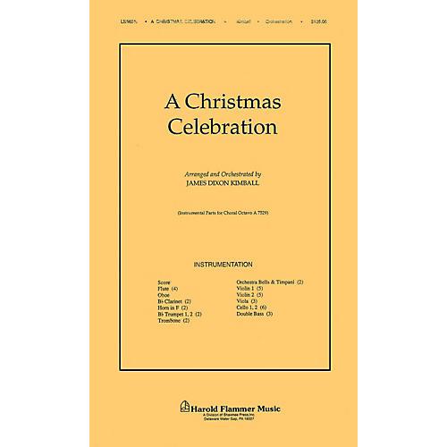 Shawnee Press A Christmas Celebration Score & Parts arranged by James Kimball