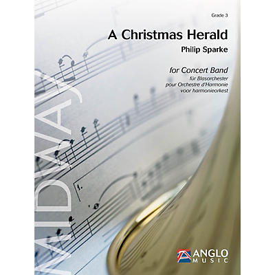 Anglo Music Press A Christmas Herald (Grade 3 - Score and Parts) Concert Band Level 3 Composed by Philip Sparke
