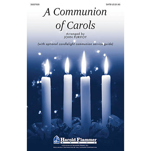 Shawnee Press A Communion of Carols SATB arranged by John Purifoy