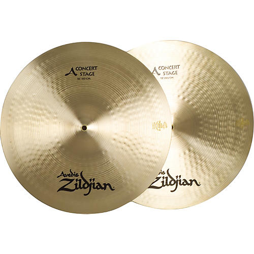 Zildjian A Concert Stage Crash Cymbal Pair 16 in.