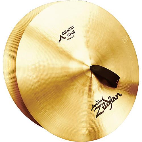 zildjian a concert stage crash cymbal pair musician 39 s friend. Black Bedroom Furniture Sets. Home Design Ideas