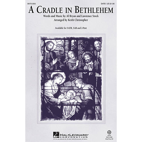 Hal Leonard A Cradle in Bethlehem 2-Part Arranged by Keith Christopher