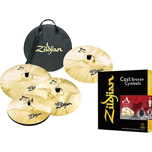 Zildjian A Custom Packs : zildjian a custom bonus cymbal pack with free 18 crash and bag musician 39 s friend ~ Vivirlamusica.com Haus und Dekorationen